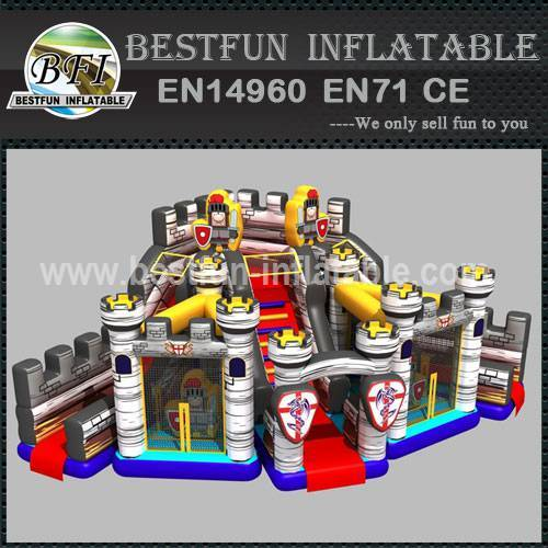 Bastion Kids Inflatable Castle Amusement Park