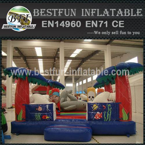 Dolphin Inflatable Ocean Playground