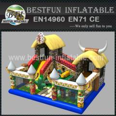 INDIAN VILLAGE INFLATABLE PLAYGROUND
