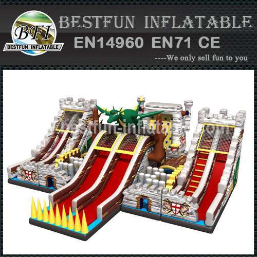 INFLATABLE PLAYGROUND GIANT FORTRESS