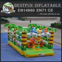 INFLATABLE MINI PLAYGROUND JUNGLE