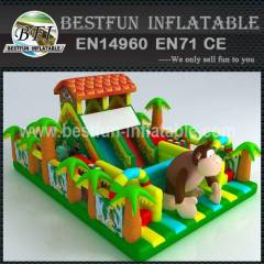 INFLATABLE PLAYGROUND JUNGLE MONKEY