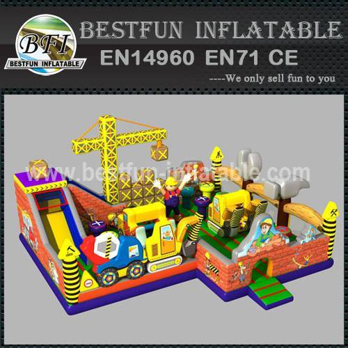 INFLATABLE BLOWING PLAYGROUND STRUCTURE