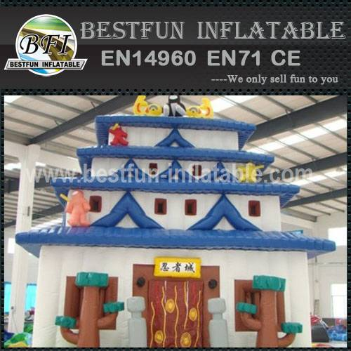 PLAYGROUND PAGODA PVC INFLATABLE