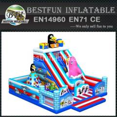 Penguin Inflatable Amusement Playground