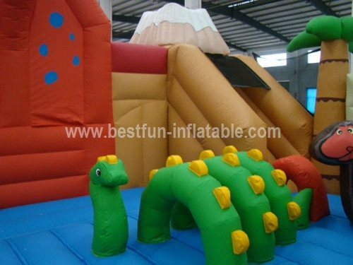 Advertisement Inflatable Dinosaur Playground