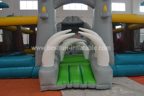 Amazing giant inflatable amusement park
