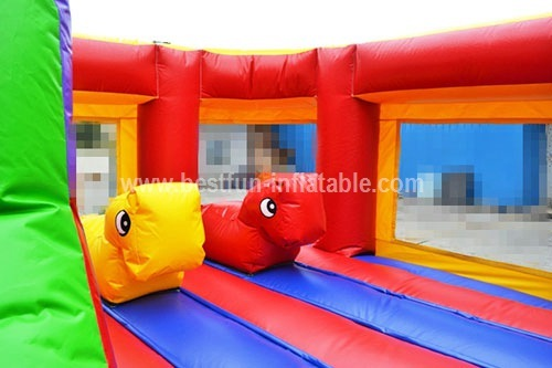 Attractive giant inflatable playgrounds