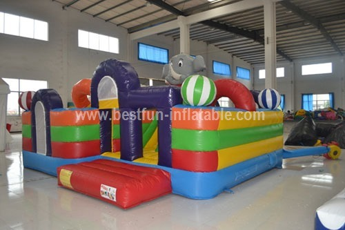 Elephant giant inflatable playground for sell