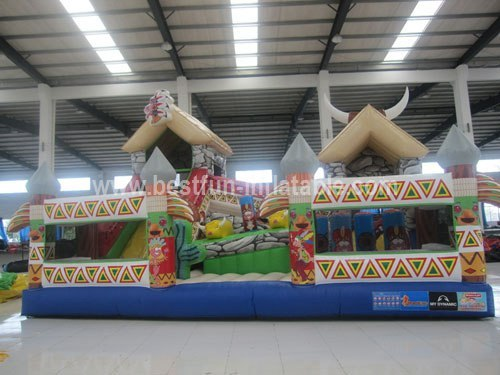 India theme inflatable funcity