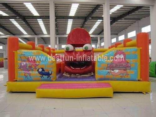 Inflatable Playground Dinozaurek eaters