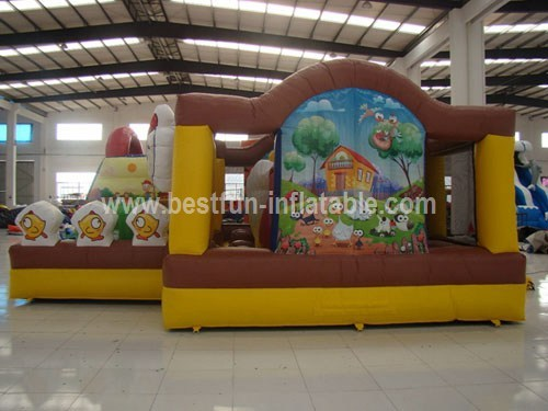 Inflatable playground inflatable fun of city
