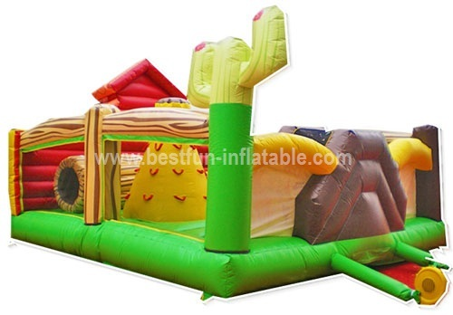 Little Farm Inflatable Bouncers Playground