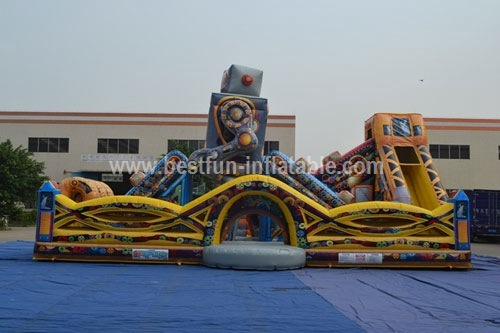 Outdoor Dynamic Robot Inflatable Playground