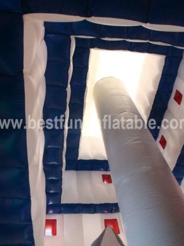Pagoda inflatable mini jumping playground
