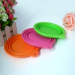 Silicone kitchen collapsible bowl for pet dog