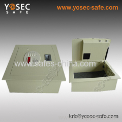 Intelligent hotel drawer safe with laser cutting constructure