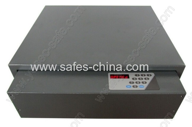 Electronic Sliding Hotel Drawer Safe With Front Opening