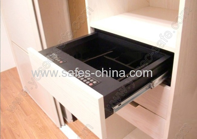 Digital Sliding Drawer Safe With Front Opening From China