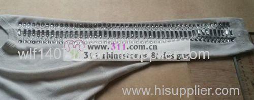 311 hot-fix heat transfer rhinestone motif design 3