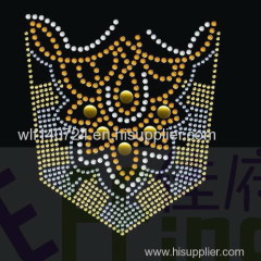 311Pocket Map hot-fix heat transfer rhinestone motif design