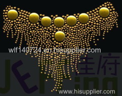 311 collarhot-fix heat transfer rhinestone motif design