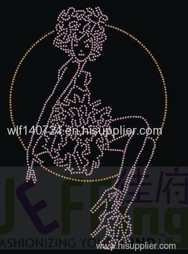 311girl hotmaphot-fix heat transfer rhinestone motif design
