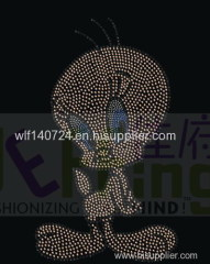 311 animalduckhot-fix heat transfer rhinestone motif design
