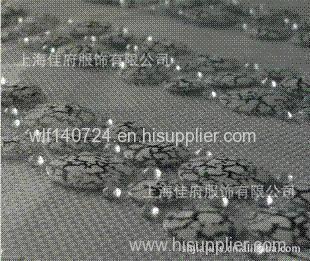 Marble hot chip hot-fix heat transfer rhinestone motif design