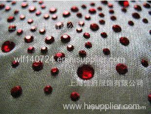 311 fashion hot-fix heat transfer rhinestone motif design