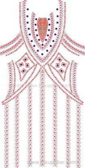 dress-new-DESIGN hot-fix heat transfer rhinestone motif design
