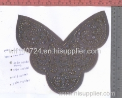 311 vietnamhot-fix heat transfer rhinestone motif design