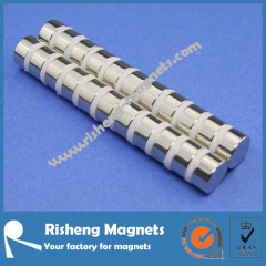 Super Strong Permanent Magnet N45 D12 x 6mm Disc Magnet Supplier