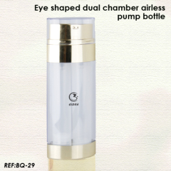 dual chamber airless bottle