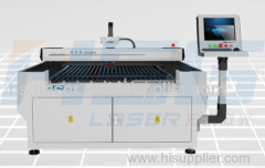 300/500W cut 5mm steel metal fiber laser cutting machine HS-F132