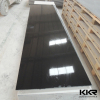 Pure black artificial stone solid surface slabs modified acrylic solid surface