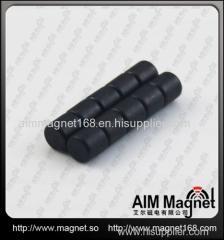 epoxy coating rare earth ndfeb cylinder magnet