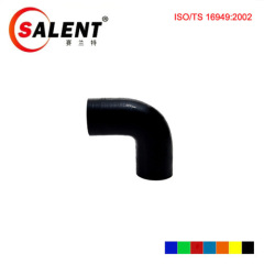 "SALENT 5"" (127mm) High Temp Reinforced 90 Degree Elbow Coupler Silicone Hose"