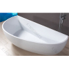 solid surface white freestanding bathtubs