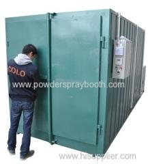 Gas Powered Powder Coating Ovens