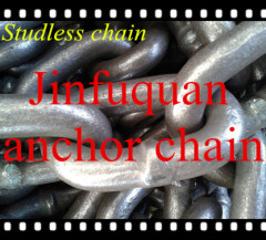 welded studless anchor chains