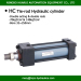 double rods hydraulic actuator oil cylinders