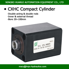 hydraulik doubling acting compact oil cylinder (hydraulic cylinder)