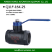 2 way low pressure carbon steel Ball valve for water (Japan Standard Joint)