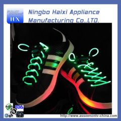colourful new led shoelaces