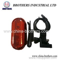 Red LED Multi-Function LED Bicycle Tail-Lamp