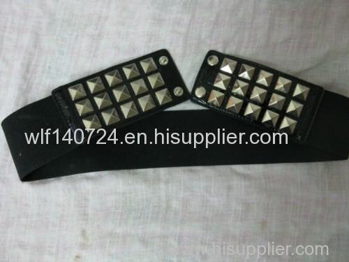 311 belt hot-fix heat transfer rhinestone motif design