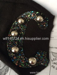 311 hot-fix heat transfer rhinestone motif design