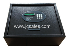 Back light keypad open top hotel safe