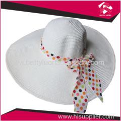 LADIES PAPER STRAW HAT